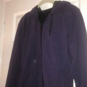 Purple lululemon zip-up hoodie-excellent condition